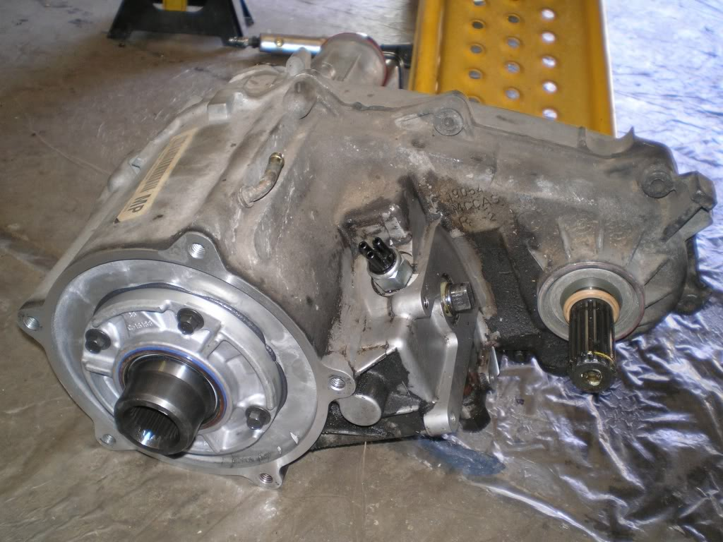 chevy transfer cases